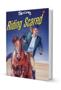 Riding Scared (paperback)